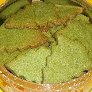 Coca Leaf Powder Cookies
