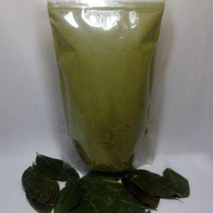coca leaf powder bag