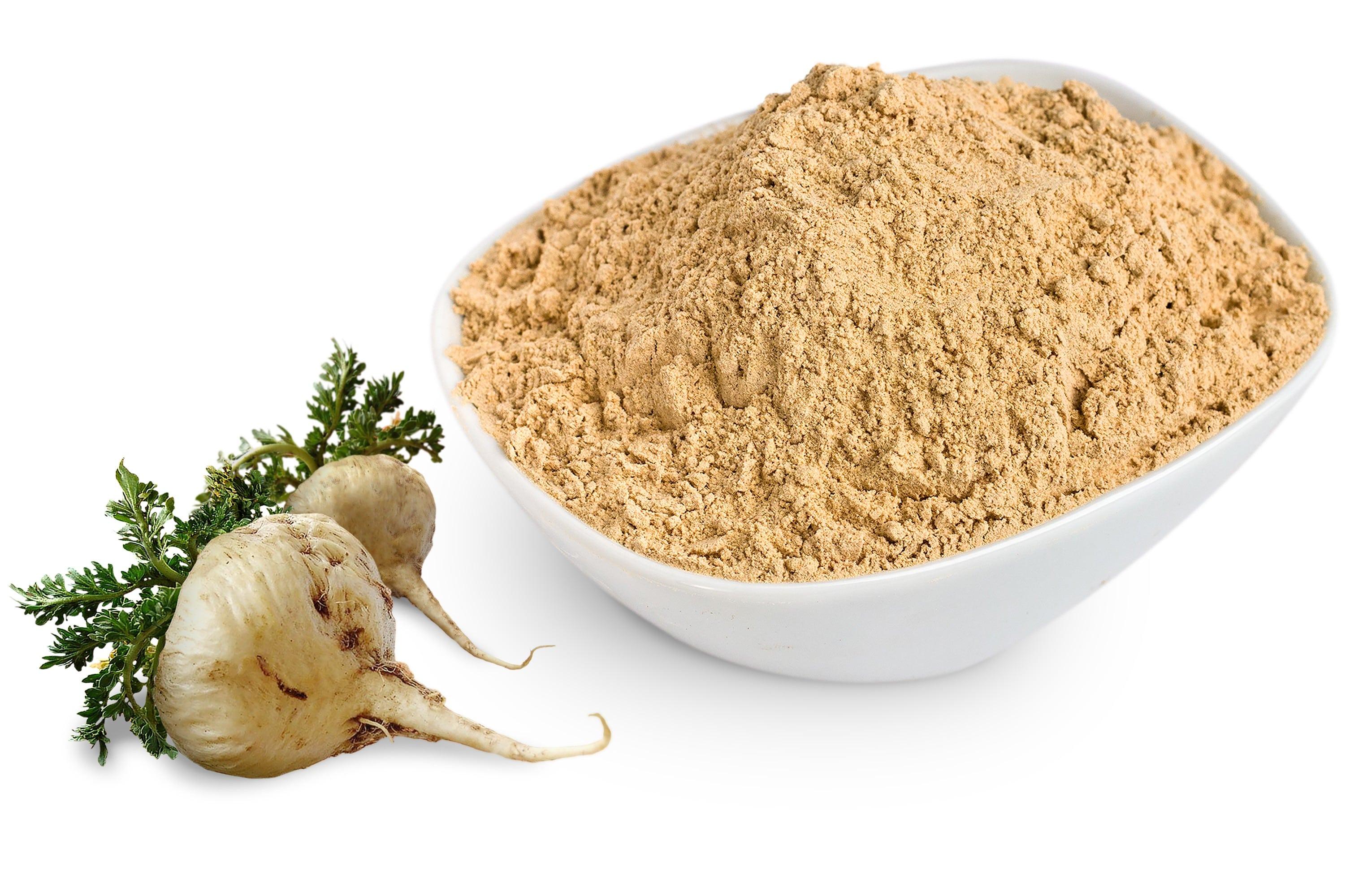 Yellow Maca Powder Andean Leaves 100 Peruvian Natural