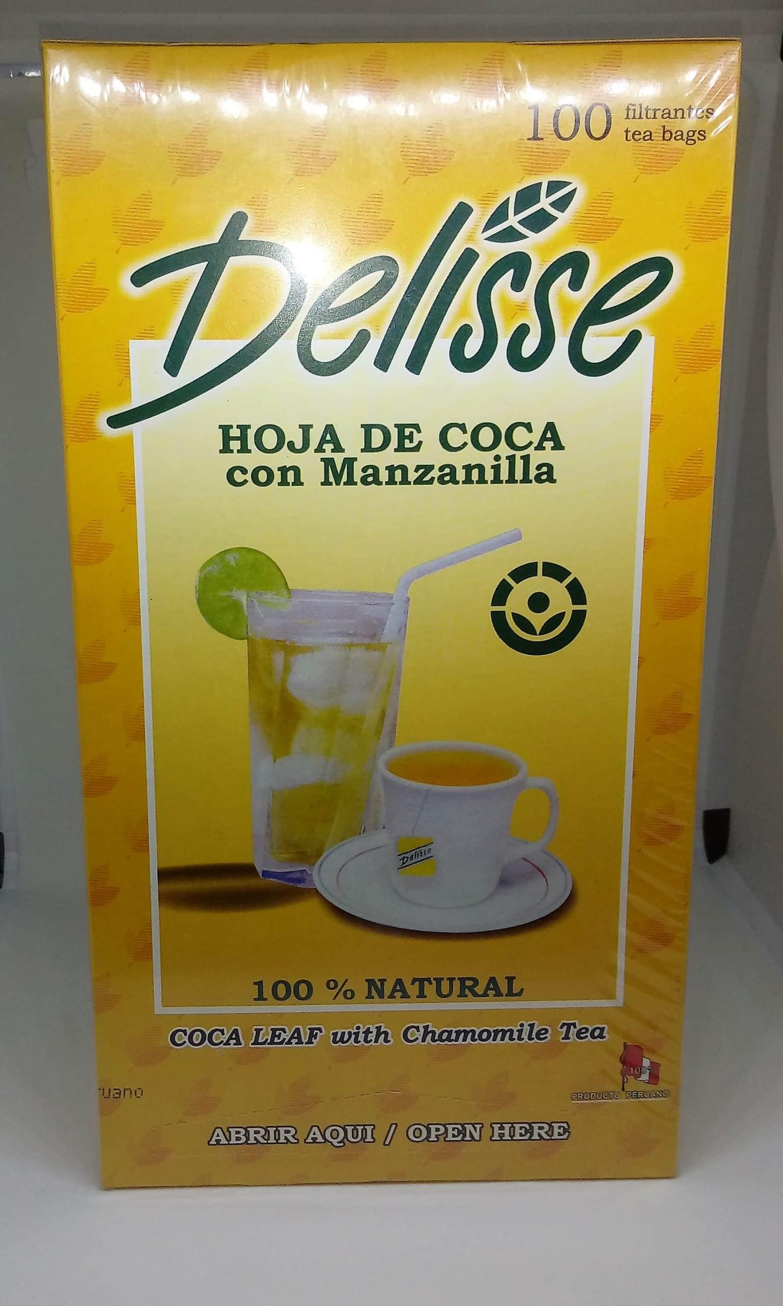100 bags Peru thee Mate de coca thea